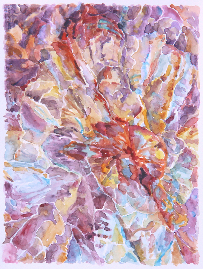 2015 Abstraccion 1, watercolor (plein air), 5.5x7.5-680px