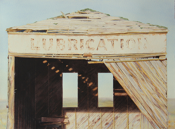 2016 Lubrication (Penwell Series no.4), watercolor, 30.25x22.5-680px